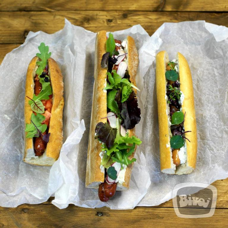 3 TIPY NA SUPER HOT-DOG DIPY